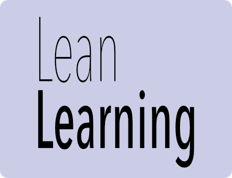 Lean learning logo